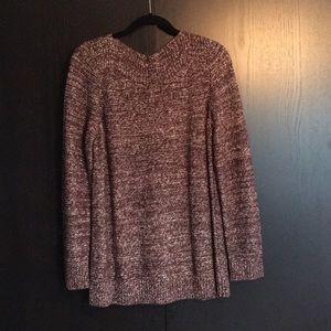 Ladies brown copper sweater xl